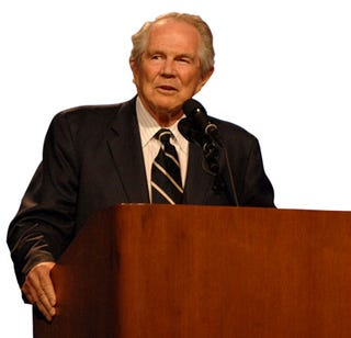 Illustration for article titled God's Wrath According To Pat Robertson
