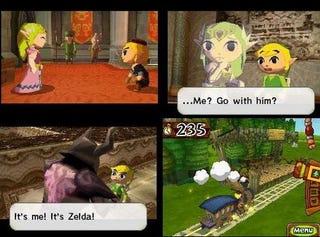 Illustration for article titled The Legend of Zelda: Spirit Tracks Multiplayer Preview: Spreading The Phantom