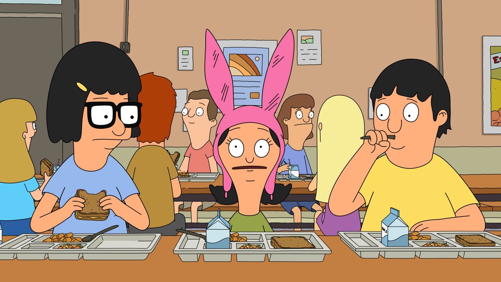 bob's burgers returns from a weeks-long hiatus with a schoolyard