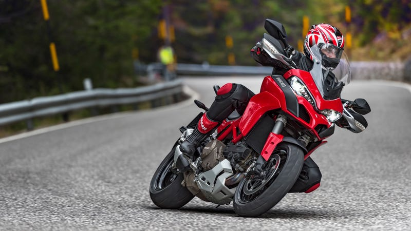 Illustration for article titled The 2015 Ducati Multistrada Is Four Bikes Rolled Into One