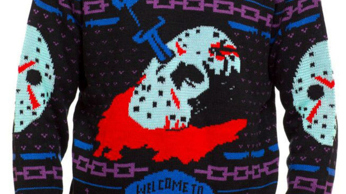e4c611acd69011 These Great Sweaters Help You Get Personal With Your Favorite Horror Icons