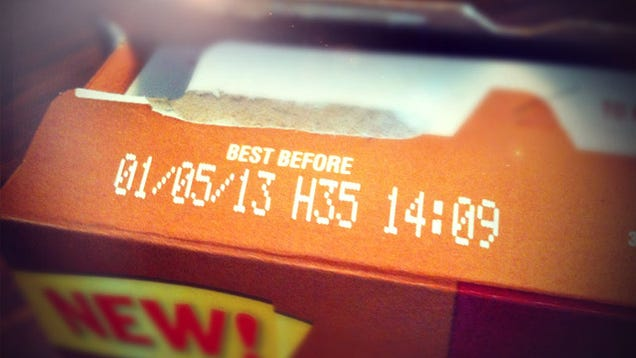 Expiration dates on food in Australia