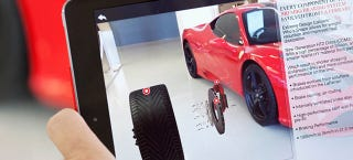 Illustration for article titled Ferrari Will Use Augmented Reality To Let Buyers See Their Perfect Car