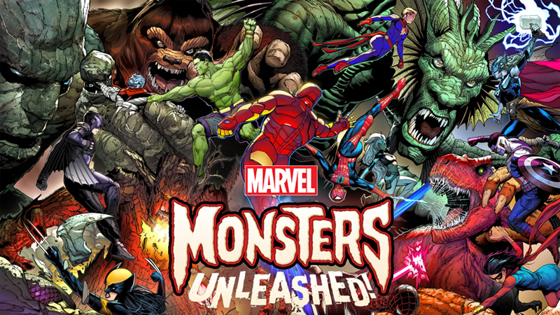 Illustration for article titled The Marvel Universe Gets Several Giant Problems in Monsters Unleashed