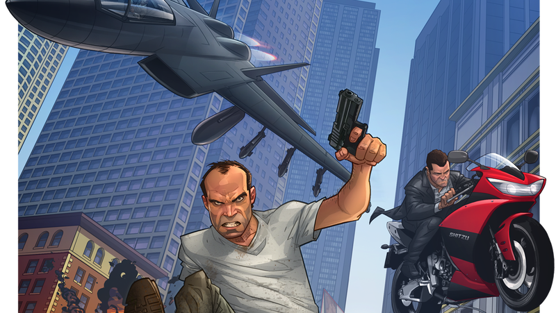 Illustration for article titled Because There Isn't Enough GTA V In This World Yet