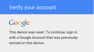 Illustration for article titled PSA: Don't Change Your Google Password Right Before Resetting Your Phone