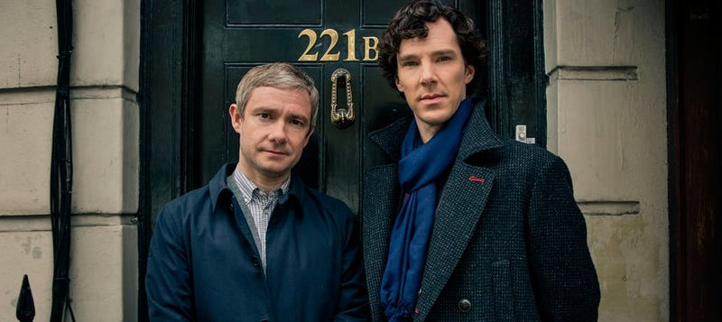 Illustration for article titled Sherlock S4 won't be until at least 2017.