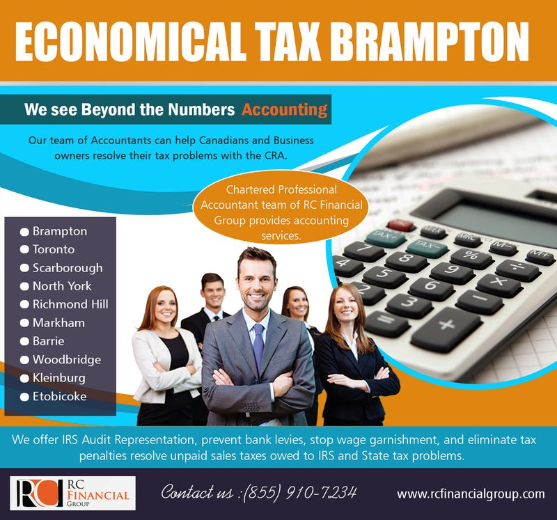 Illustration for article titled Economical Tax   Brampton | 8559107234 | rcfinancialgroup.com