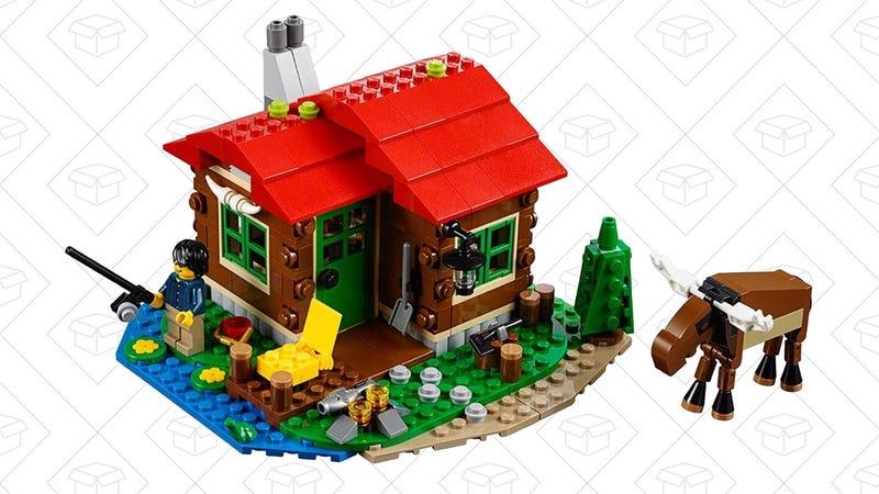LEGO Lakeside Lodge | $15 | Amazon