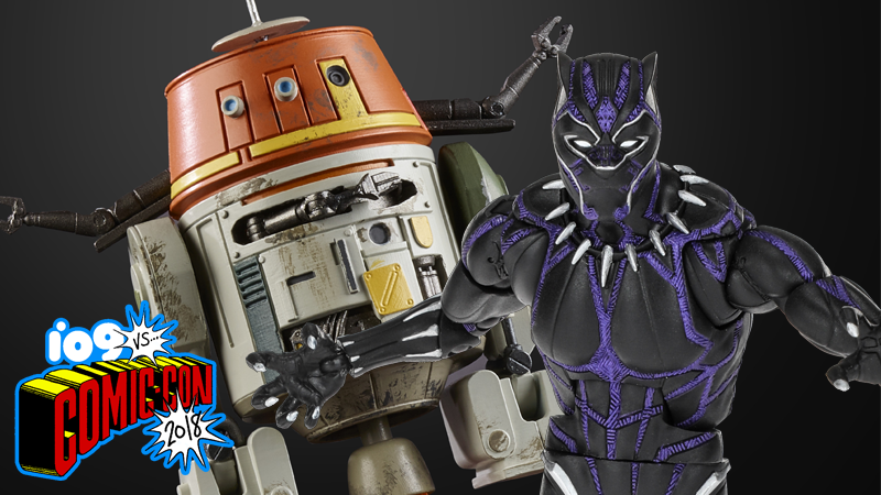 Illustration for article titled These New Star Wars and Black Panther Action Figures Are Seriously Amazing