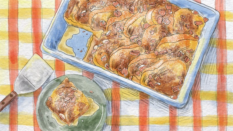 Illustration for article titled Wake and bake French toast casserole