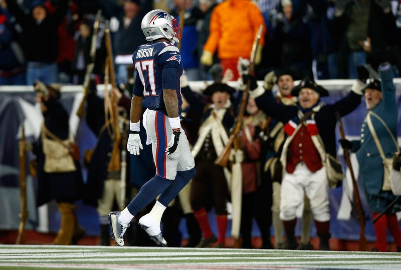 """Illustration for article titled Report: Aaron Dobson Benched After He """"Mouthed Off"""" To Josh McDaniels"""