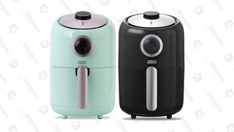 Dash Compact Air Fryer (Aqua or Black) | $37 | Amazon