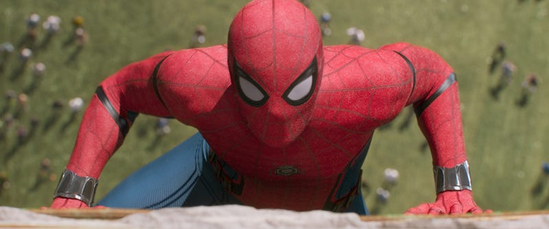 Spider-Man is back in Homecoming. Image: Sony