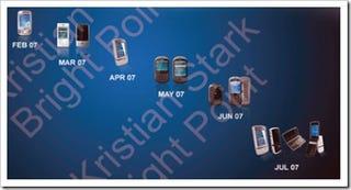 Illustration for article titled i-Mate's 2007 Phones Leaked Online