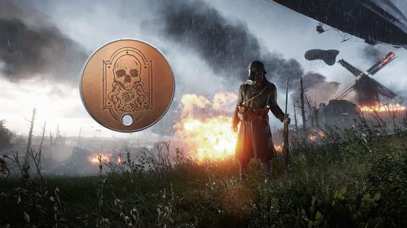 Illustration for article titled After Months Of Investigation, Battlefield 1 Easter Egg Only Turns Up A Dog Tag