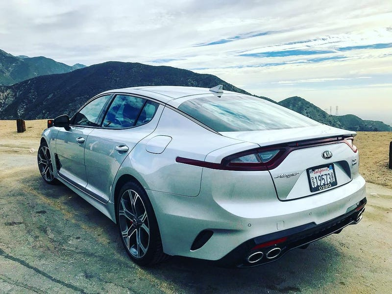 Illustration for article titled Kia Stinger GT Now Has a Mechanical LSD Starting at $38,350 (Edit: Darn Disclaimers, Darn Them To Heck!!!)