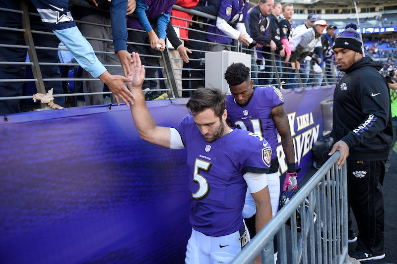 Joe Flacco dismisses criticism from Ray Lewis