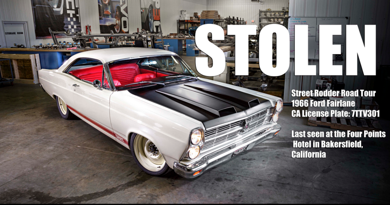 Illustration for article titled Let's Help Find Street Rodder's Stolen Ford Fairlane