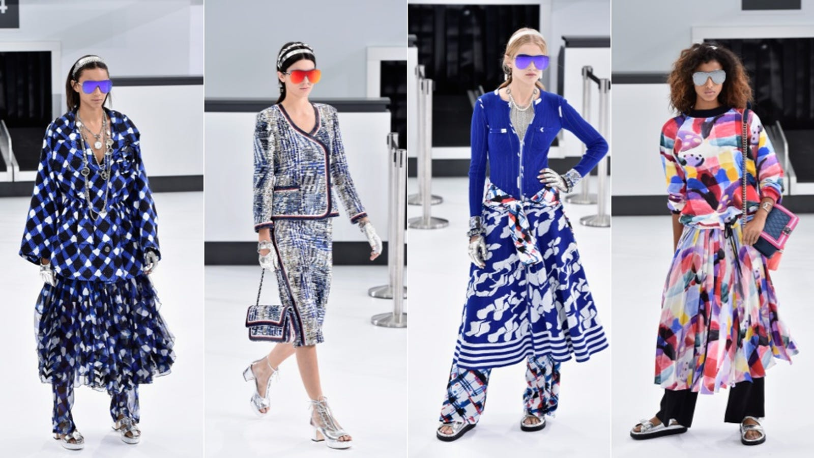 Fashion Show Chanel Airlines