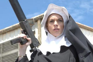 """Illustration for article titled Early Review Of Machete: """"Lindsay Is Nude The Whole Time"""""""