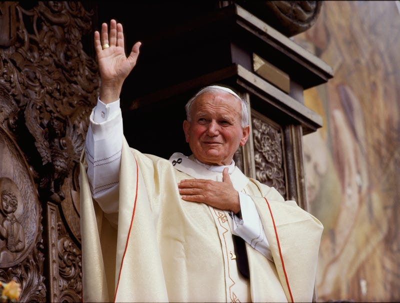 Illustration for article titled Vatican Canonizes John Paul II As Patron Saint Of Ignoring Problem Until You Die