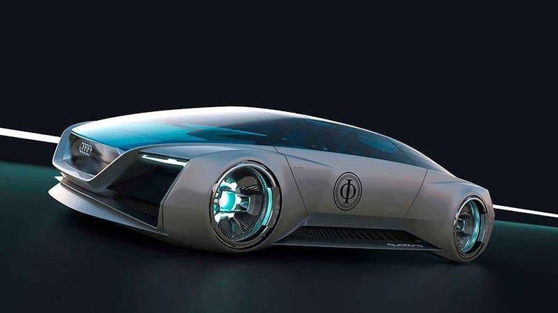Illustration for article titled El coche más futurista de Audi existe sólo para El Juego de Ender