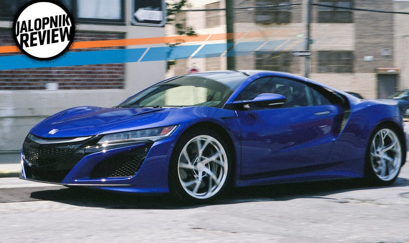 The 2017 Acura NSX Is Still The Crazy Fast Spaceship You Can Live ...