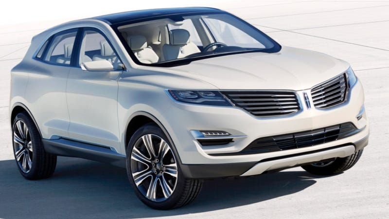Illustration for article titled Can The Lincoln MKC Concept Set The Brand On Fire?