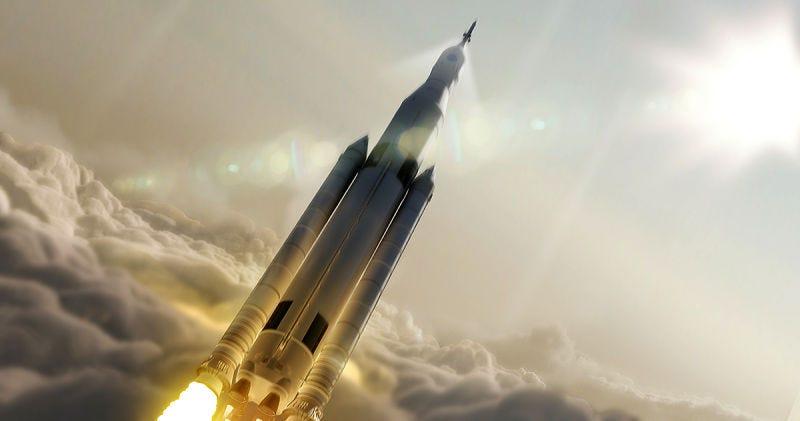 Illustration for article titled La NASA considera enviar astronautas en la primera misión del cohete que algún día nos llevará a Marte