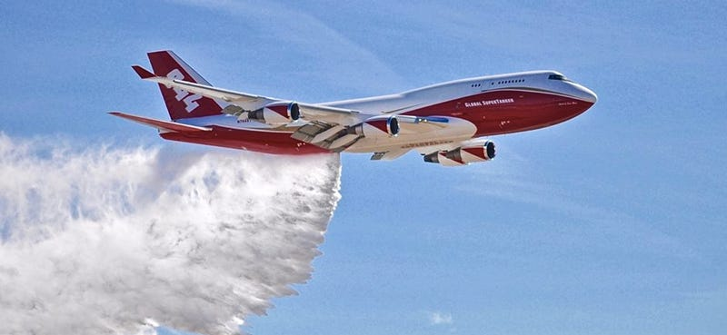 This Boeing 747 Is The World's Biggest Firefighting Beast