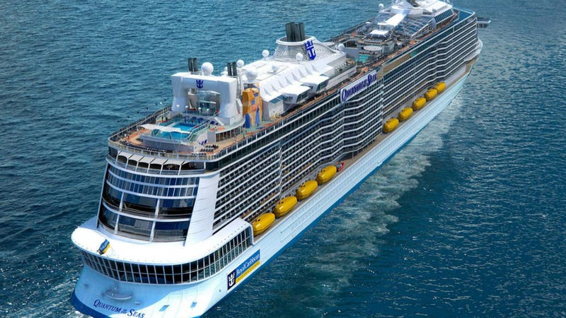 Royal Caribbean39s New Cruise Ship Features Bumper Cars