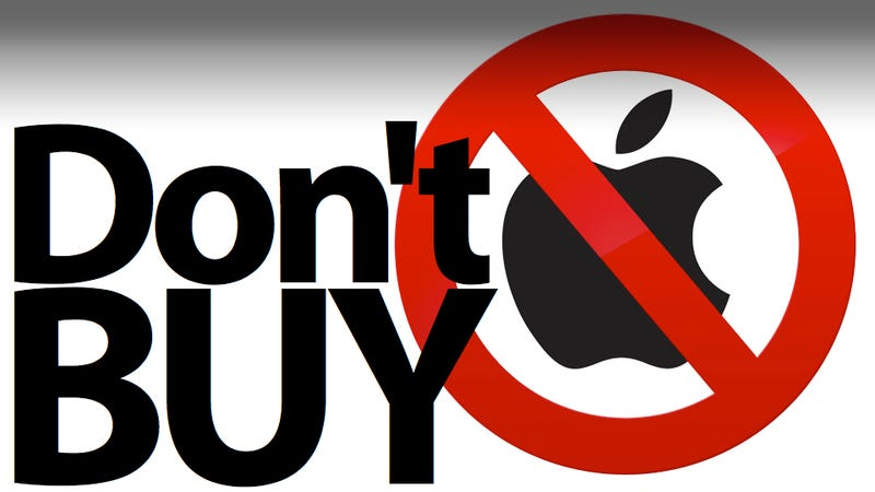 Illustration for article titled It's a Dangerous Time to Buy Apple Products