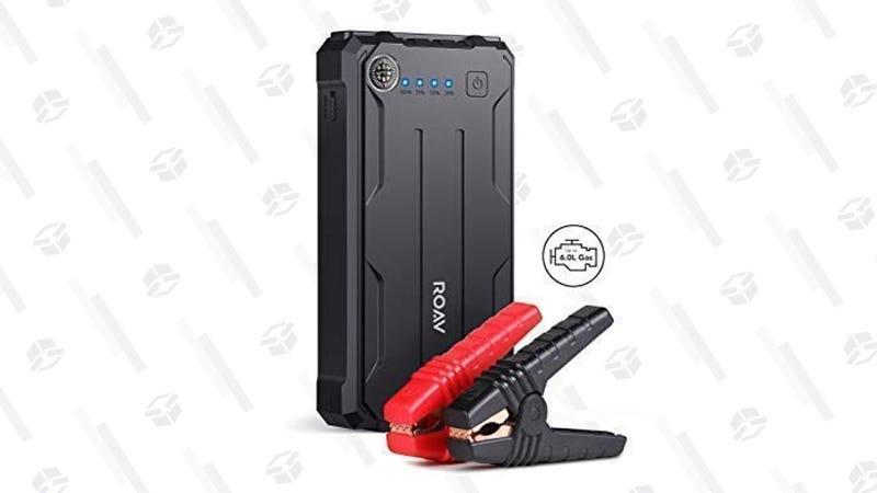 Batería de arranque Anker Roav Pro | $75 | Amazon | Código promocional ROAVR320