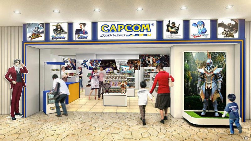 Illustration for article titled Capcom Is Opening a Store. A Real, Retail Store.
