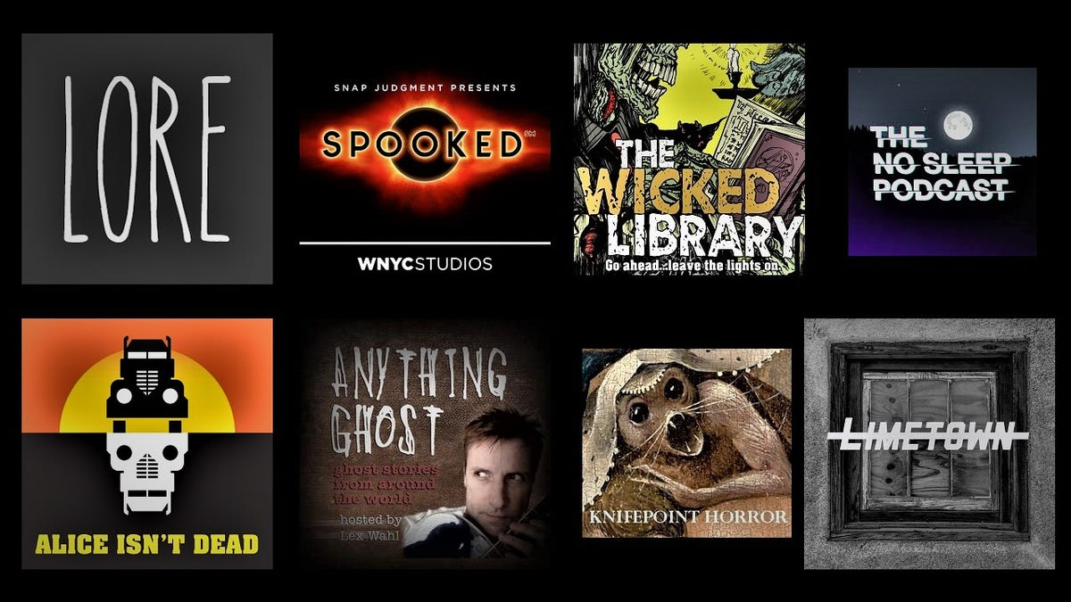 nine spooky podcasts guaranteed to frighten you