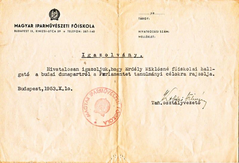 Illustration for article titled Napi csodás dokumentum: ekkora volt az éberség 1953-ban a Duna-parton
