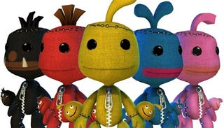 Illustration for article titled Sony Overdoes It With LittleBigPlanet LocoRoco Costumes