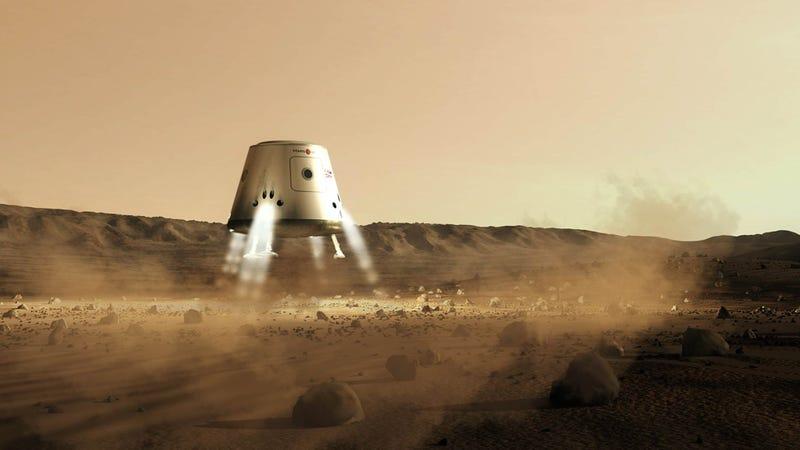 Illustration for article titled El astronauta Buzz Aldrin sí cree en las misiones sin retorno a Marte