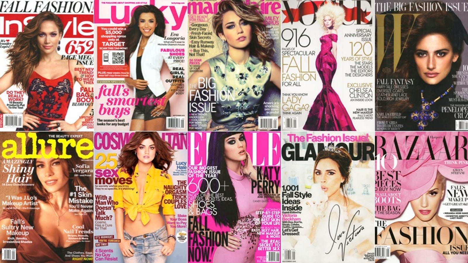 We Read So You Don\'t Have To: The Year\'s Biggest Ladymags, Rated and ...