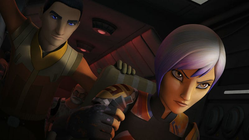 Illustration for article titled Creator Dave Filoni Explains How 'The Fire of the Jedi' Is Going Out in Star Wars Rebels' New Season