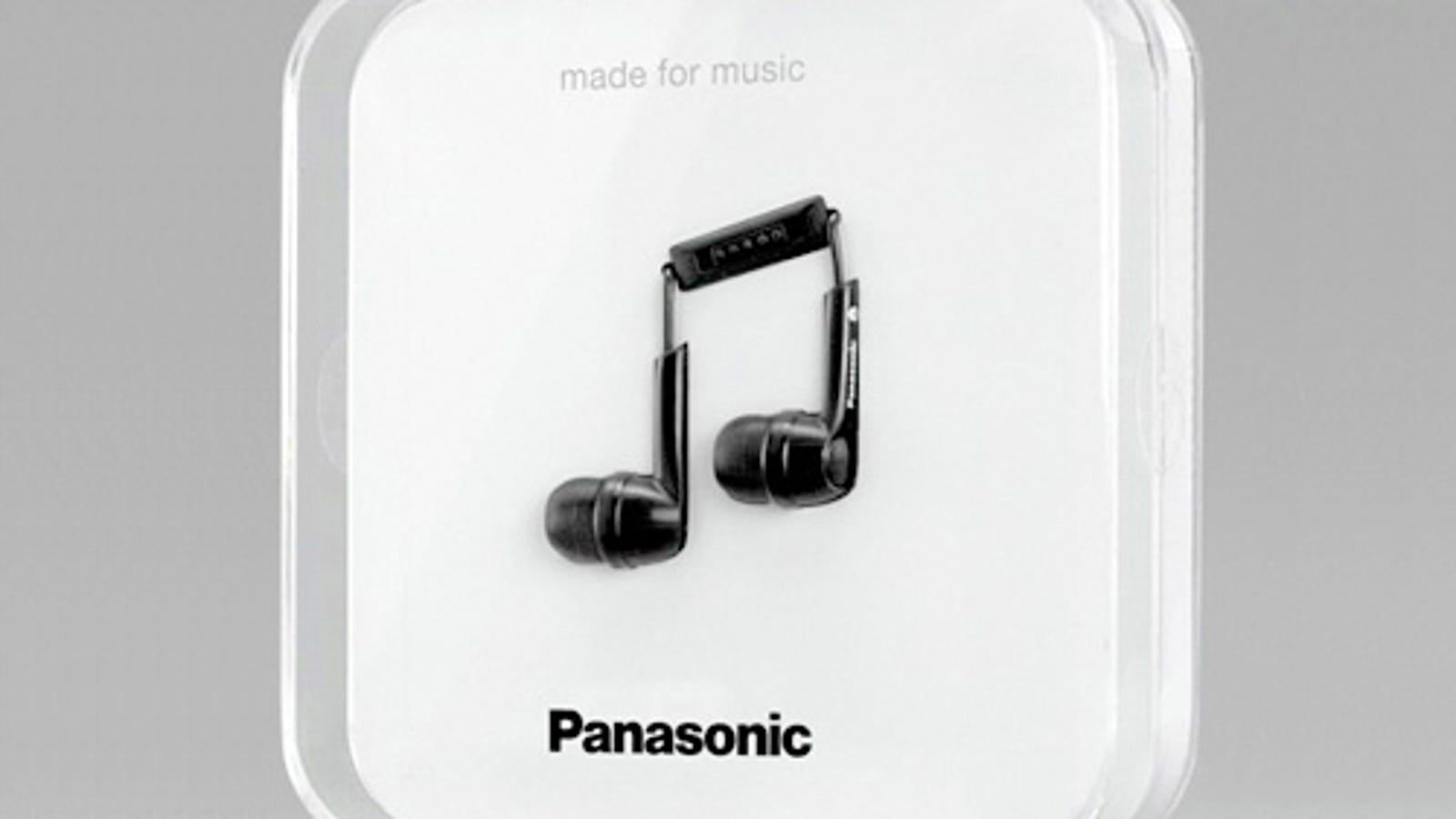 Panasonic's Headphones Packaging Trumps Even Apple's