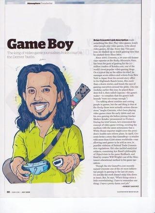 Illustration for article titled T-Rex Crecente Invades A Denver Magazine: 5280
