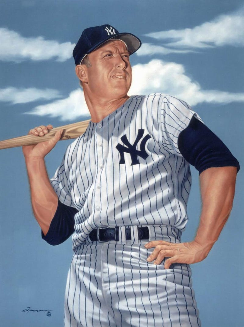 "Illustration for article titled Mickey Mantle's ""Outstanding Event"" At Yankee Stadium Is Lewdly Outstanding"