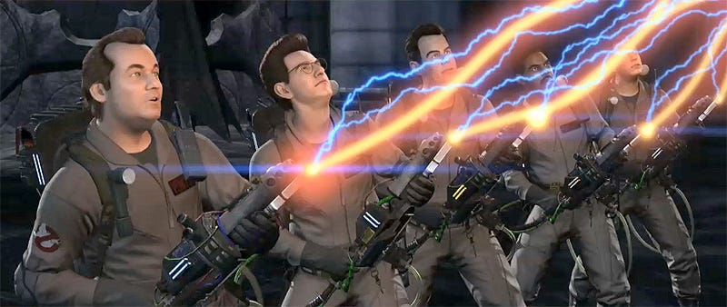 Illustration for article titled Ghostbusters International