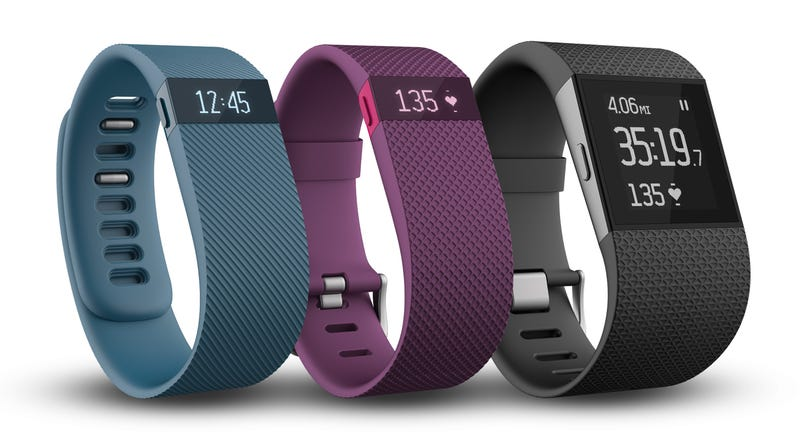 Illustration for article titled Fitbit Charge Finally Arrives, Charge HR and Surge Land in 2015