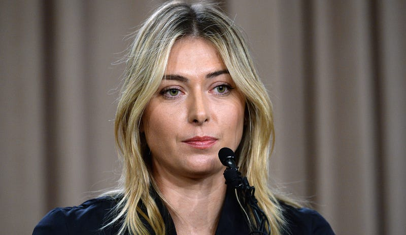 Illustration for article titled Maria Sharapova Banned From Professional Tennis For Two Years