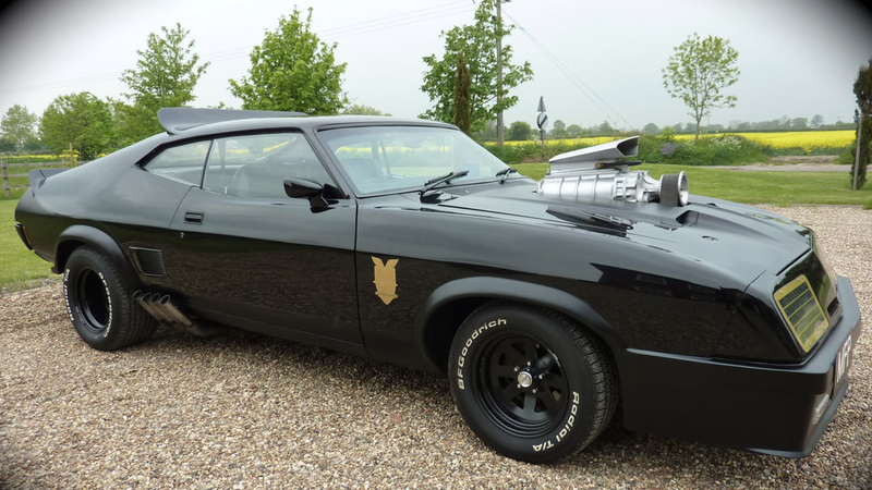 mad max spec ford falcon v8 interceptor for sale on ebay uk. Black Bedroom Furniture Sets. Home Design Ideas