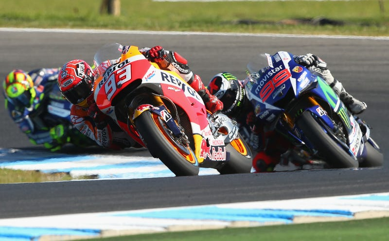 Illustration for article titled This Weekend's MotoGP Race Is Why You Should Watch Motorcycle Racing