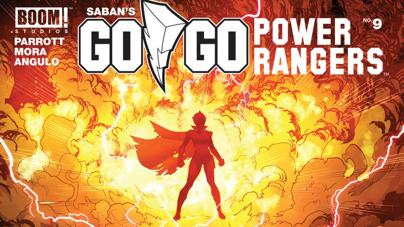 Illustration for article titled A new Pink Ranger leaps into action in this Go Go Power Rangers exclusive
